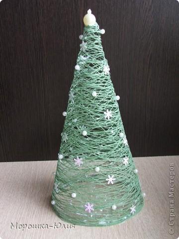 Новогодние елка из пластиковых бутылок своими руками