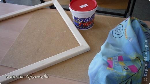 Мастер-класс Коллаж: Панно из ткани Материал бросовый Начало учебного года. Фото 2