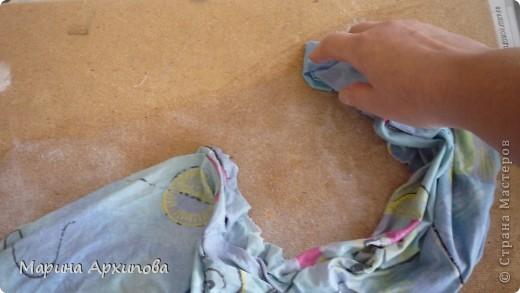 Мастер-класс Коллаж: Панно из ткани Материал бросовый Начало учебного года. Фото 6