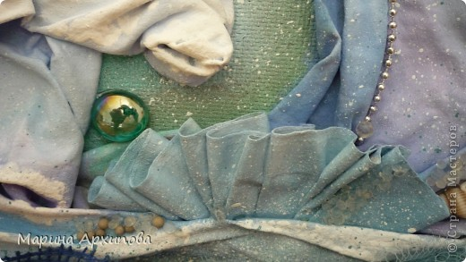 Мастер-класс Коллаж: Панно из ткани Материал бросовый Начало учебного года. Фото 18