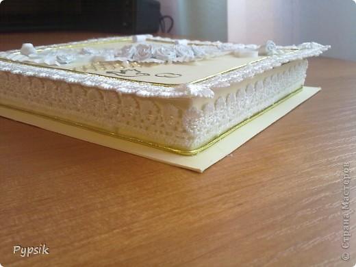 Открытка Квиллинг: Еще коробочки Бумага Свадьба. Фото 2