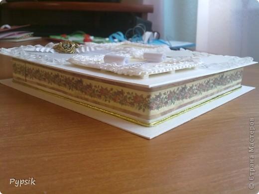 Открытка Квиллинг: Еще коробочки Бумага Свадьба. Фото 5
