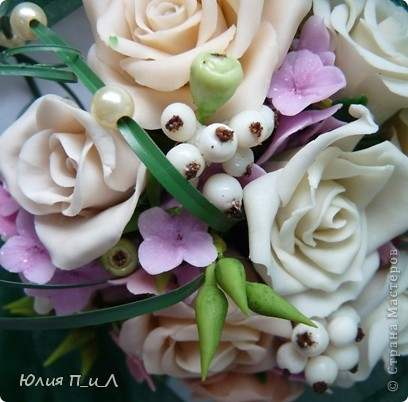 """Мастер-класс,  Лепка, : Розовые «секреты» и не только(""""холодный фарфор"""")МК Фарфор холодный День рождения, . Фото 5"""