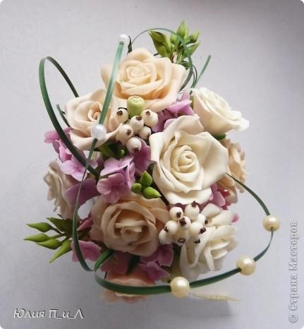 Мастер-класс,  Лепка, : Розовые «секреты» и не только…МК Фарфор холодный День рождения, . Фото 1