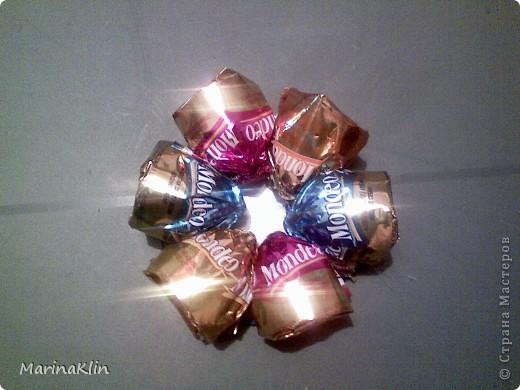 Мастер-класс, Свит-дизайн,  Моделирование, : Коляска из конфет Бумага, Бусинки, Картон, Скотч День рождения, . Фото 12