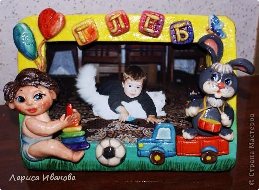 Рамочки Лепка, Роспись: Еще раз рамочки... Акварель, Гуашь День рождения, Отдых. Фото 4