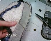 Мастер-класс,  Шитьё, : Домашние тапочки для себя и для гостей. Кожа, Мех, Ткань . Фото 17