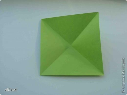Мастер-класс,  Оригами, : Гофрированный листок клена. Бумага Деньучителя, . Фото 3