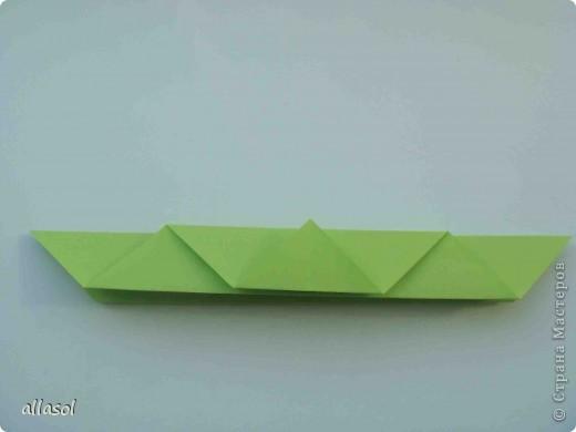 Мастер-класс,  Оригами, : Гофрированный листок клена. Бумага Деньучителя, . Фото 8