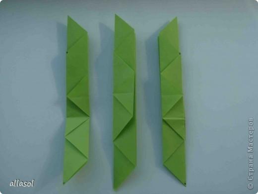 Мастер-класс,  Оригами, : Гофрированный листок клена. Бумага Деньучителя, . Фото 9