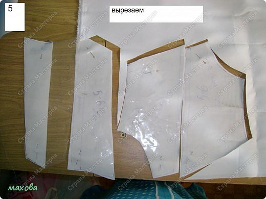 Мастер-класс,  Шитьё, : детский корсет для платья Ткань . Фото 5
