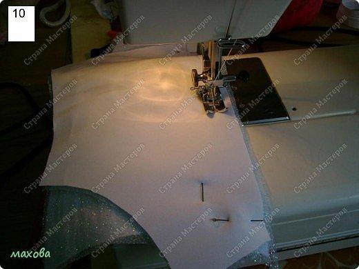 Мастер-класс Шитьё: детский корсет для платья Ткань. Фото 10