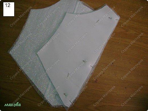 Мастер-класс Шитьё: детский корсет для платья Ткань. Фото 12