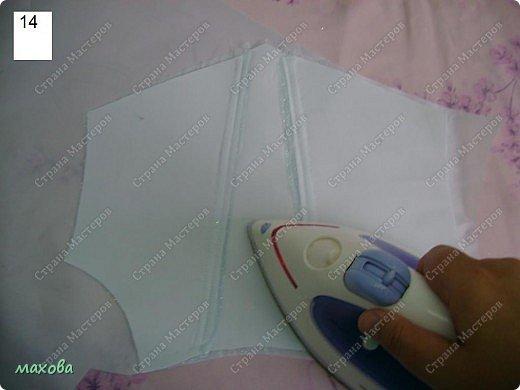 Мастер-класс,  Шитьё, : детский корсет для платья Ткань . Фото 14