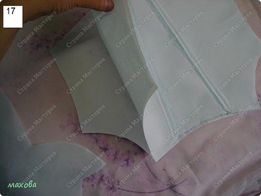 Мастер-класс,  Шитьё, : детский корсет для платья Ткань . Фото 17