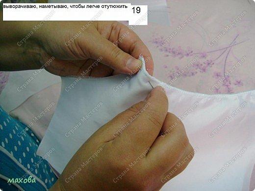 Мастер-класс,  Шитьё, : детский корсет для платья Ткань . Фото 19
