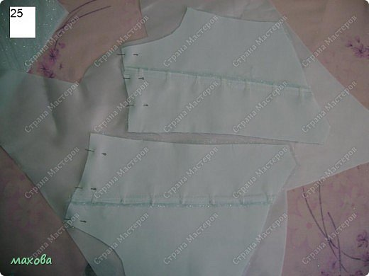 Мастер-класс Шитьё: детский корсет для платья Ткань. Фото 25