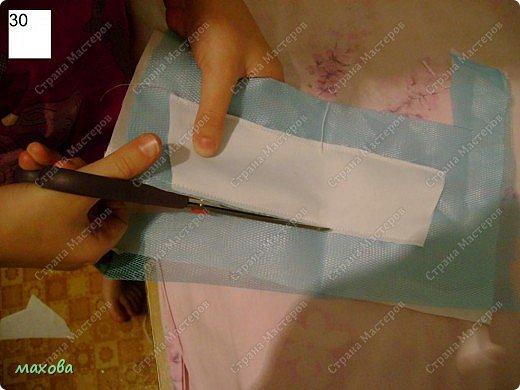 Мастер-класс,  Шитьё, : детский корсет для платья Ткань . Фото 30