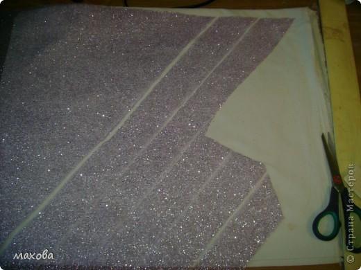 Мастер-класс, Украшение Шитьё: как украсить корсет Ткань. Фото 3