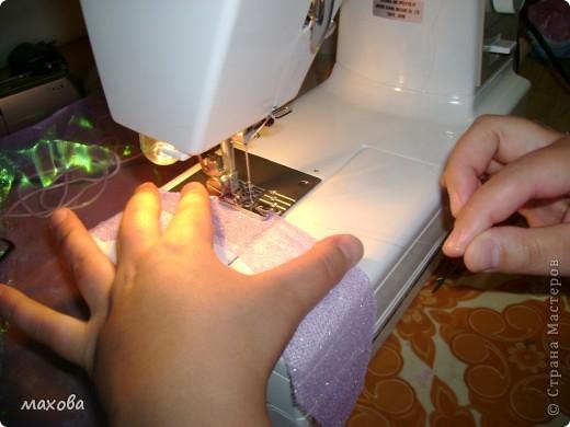 Мастер-класс, Украшение Шитьё: как украсить корсет Ткань. Фото 5