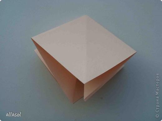 Мастер-класс Оригами: Георгины Бумага День учителя. Фото 2