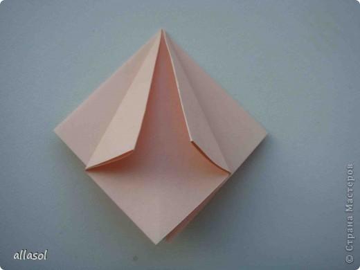 Мастер-класс Оригами: Георгины Бумага День учителя. Фото 3