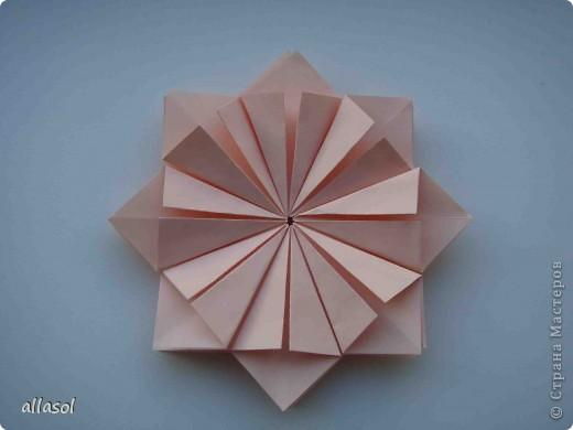 Мастер-класс Оригами: Георгины Бумага День учителя. Фото 6