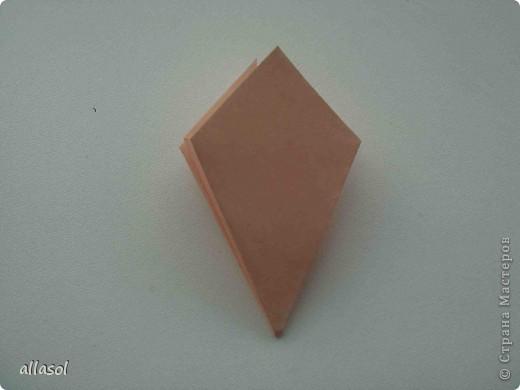 Мастер-класс Оригами: Георгины Бумага День учителя. Фото 14