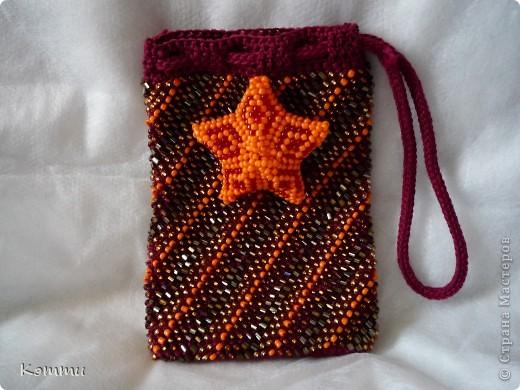 схема для вязания чехла для телефона крючком. вязание крючком с бисером...