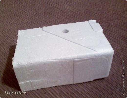 Как сделать коробку из пенопласта своими руками7