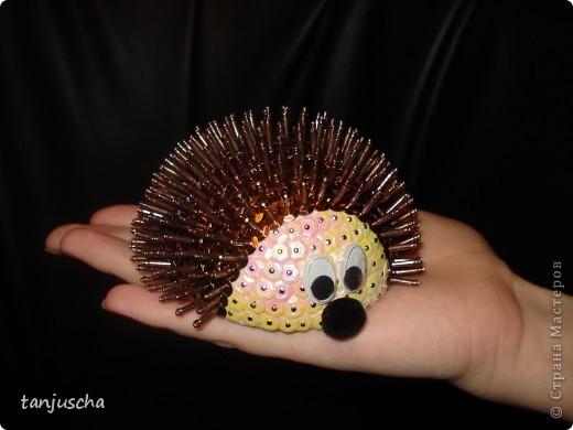 Мастер-класс: Ёлочные игрушки Пайетки, Пенопласт Новый год.  Фото 7.