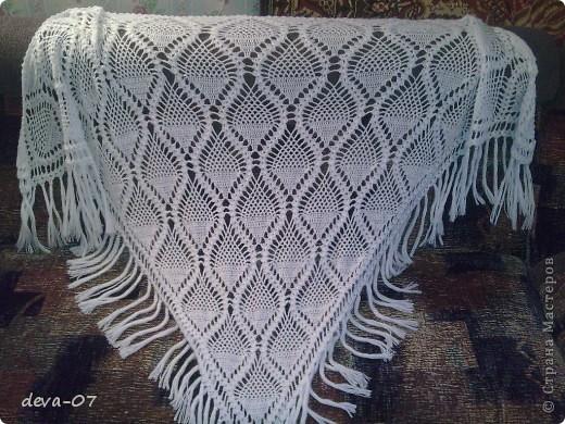 креативное вязание крючком шали косынки схемы.