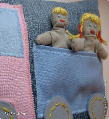 Игрушка, Раннее развитие, Шитьё, : Подушка в машину . Фото 2