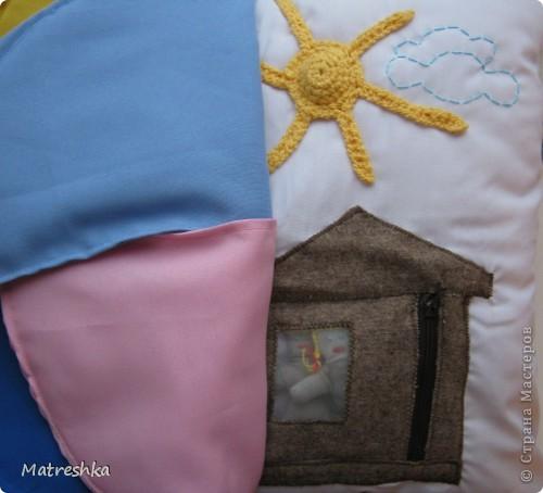 Игрушка, Раннее развитие, Шитьё, : Подушка в машину . Фото 4