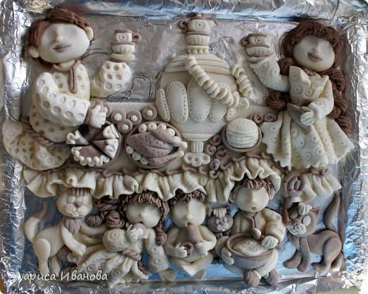 Вот такая веселая и дружная семья у моей подруги Марийки Андриенко))). Предлагаю всем посмотреть, как я делала эту работу.... Фото 41