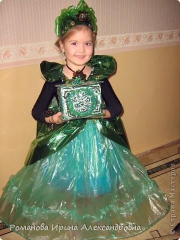 Платье из пакетов для мусора мастер класс