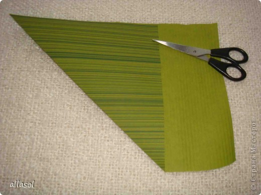 Мастер-класс, Открытка,  Оригами, : Новогодняя открытка. Бумага Новый год, Рождество, . Фото 4