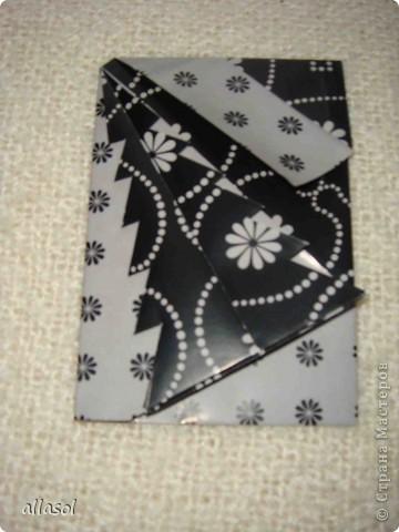 Мастер-класс, Открытка,  Оригами, : Новогодняя открытка. Бумага Новый год, Рождество, . Фото 19