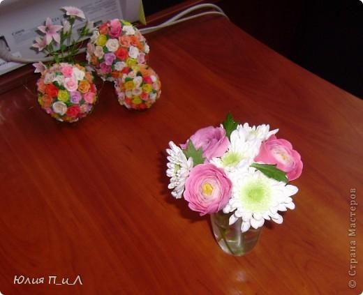 Мастер-класс,  Лепка, : Ранункулюсы-цветы оказались так просты))))Лепим?МК Фарфор холодный . Фото 9