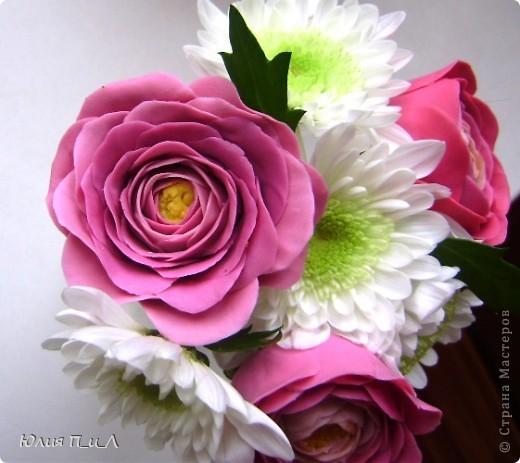 Мастер-класс,  Лепка, : Ранункулюсы-цветы оказались так просты))))Лепим?МК Фарфор холодный . Фото 3