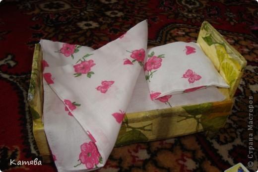 Как сшить одеяло и подушки для барби 5