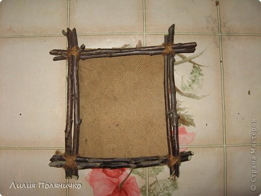 Рамки из веток фото