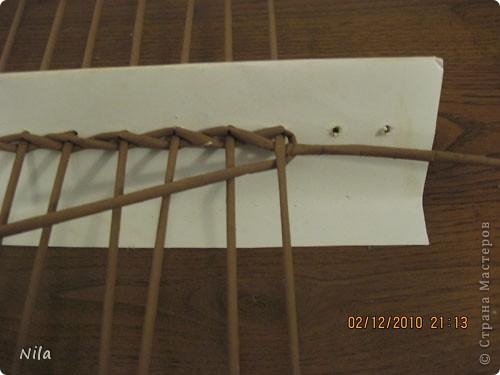 Мастер-класс Плетение: Плетение квадратной (прямоугольной ) коробки Бумага газетная. Фото 4