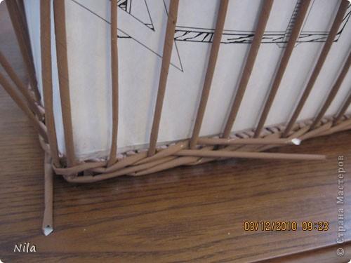 Мастер-класс Плетение: Плетение квадратной (прямоугольной ) коробки Бумага газетная. Фото 25