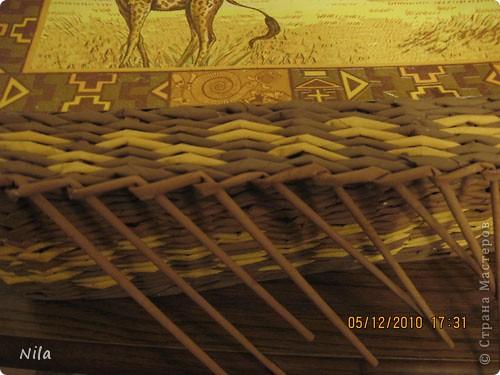 Мастер-класс Плетение: Плетение квадратной (прямоугольной ) коробки Бумага газетная. Фото 36