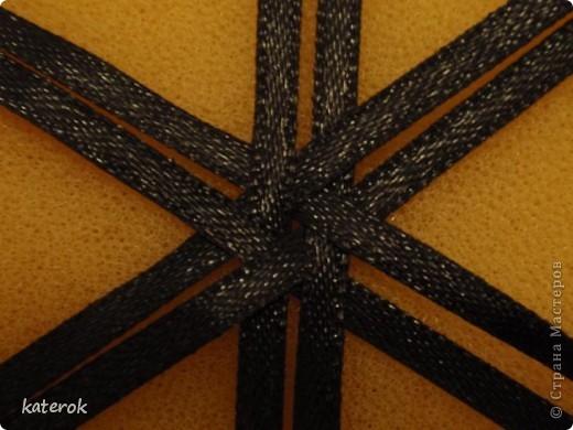 Мастер-класс, Украшение,  Бисероплетение, Плетение, Цумами Канзаши, : как я делаю шкатулки в смешанной технике Бисер, Картон, Ленты . Фото 3