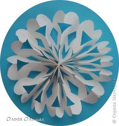Мастер-класс, Поделка, изделие, Вырезание симметричное, : Снегопад продолжается! МК. Бумага Новый год, . Фото 10