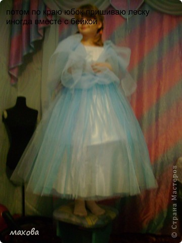 Мастер-класс,  Шитьё, : юбка к корсету  Ткань . Фото 24