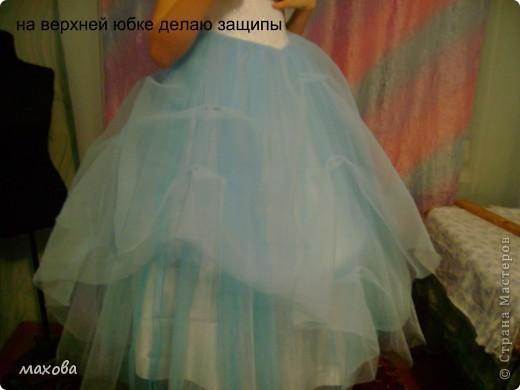 Мастер-класс,  Шитьё, : юбка к корсету  Ткань . Фото 25