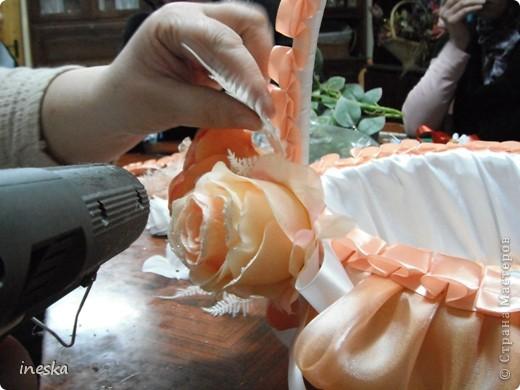Мастер-класс Шитьё: Декор корзины для свадьбы для Лесной нимфы и  всем кому пригодится Свадьба. Фото 28